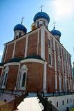 Cathedral in Ryazan Kremlin Royalty Free Stock Photo