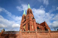 Cathedral in Rybnik. Poland, Silesia Stock Images