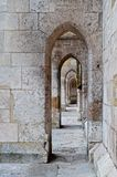 The Cathedral's colonade Stock Photos