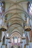 Cathedral's interior Royalty Free Stock Photography