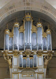Cathedral's organ Royalty Free Stock Images