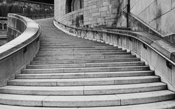 Cathedral\'s stairway Royalty Free Stock Photo