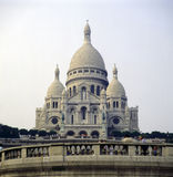 Cathedral Sacre Coeur Royalty Free Stock Photography
