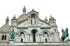Cathedral Sacre Coeur in Paris Stock Photo