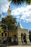 Cathedral of Sacred Alexander Nevsky Royalty Free Stock Images