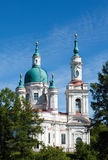Cathedral of sacred great martyr Ekaterina. Kingisepp. Royalty Free Stock Photography