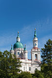 Cathedral of sacred great martyr Ekaterina.Russia Stock Photography
