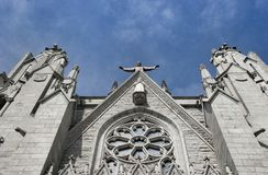 Cathedral Sacred Heart stock image