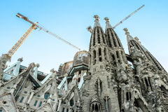 Cathedral Sagrada Familia Royalty Free Stock Image