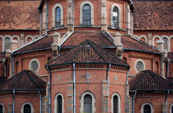 Cathedral Saigon Stock Photo