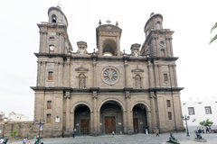 Cathedral of Saint Ana Stock Image