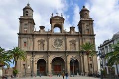 Cathedral of Saint Ana, Las Palmas de Gran Canaria Stock Photography