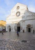 Cathedral of saint anastasia zadar dalmatia croatia europe Stock Images
