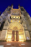 Cathedral Saint Andre Stock Images
