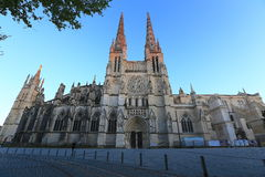 Cathedral Saint Andre. Cathedral of Saint Andre located at Bordeaux, France Royalty Free Stock Photo