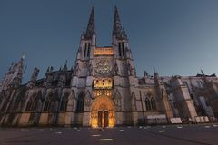 Cathedral Saint Andre Royalty Free Stock Photo