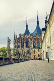 Cathedral of Saint Barbara in Kutna Hora Royalty Free Stock Photography