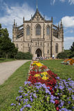 Cathedral of saint barbara kutna hora czech republic europe Royalty Free Stock Images