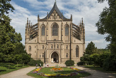 Cathedral of saint barbara kutna hora czech republic europe Stock Photos