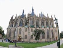 Cathedral of Saint Barbara Royalty Free Stock Image