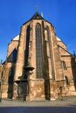 Cathedral of Saint Bartholomew, old architecture, Pilsen, Czech Republic Stock Image