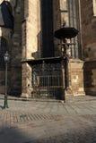Cathedral of Saint Bartholomew, old architecture, Pilsen, Czech Republic Royalty Free Stock Image