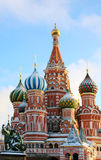 The Cathedral of Saint Basil Stock Photography