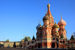 The Cathedral of Saint Basil the Blessed. St Basil's Cathedral, red Square, Moscow, Russia Stock Images