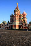 The Cathedral of Saint Basil the Blessed. Stock Photo