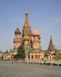 Cathedral of Saint Basil in Moscow. Russia Stock Photo