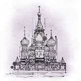 Cathedral of Saint Basil, Moscow, Russia Royalty Free Stock Photo
