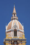 Cathedral of Saint Catherine of Alexandria in Cartagena de Indias, Colombia Stock Images