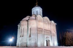 Cathedral of Saint Demetrius - Vladimir, Russia. The Cathedral of Saint Demetrius is a cathedral in the ancient Russian city of Vladimir, Russia. UNESCO World stock photography