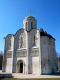 Cathedral of Saint Demetrius, Vladimir, Russia. Stock Photos