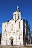 Cathedral of Saint Demetrius, Vladimir, Russia. stock images