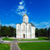 Cathedral of Saint Demetrius (XII c.) in Vladimir, Russia Royalty Free Stock Images