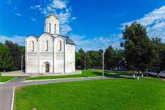 Cathedral of Saint Demetrius (XII c.) in Vladimir, Russia. Cathedral of Saint Demetrius (XII c.), UNESCO World Heritage Site, Vladimir royalty free stock images
