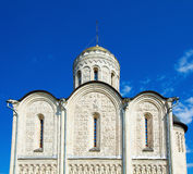 Cathedral of Saint Demetrius (XII c.) in Vladimir, Russia Stock Photos