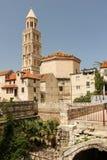 Cathedral of Saint Domnius. Split. Croatia Stock Images