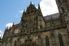 Cathedral of Saint Elizabeth in Kosice, Slovakia. Stock Photography