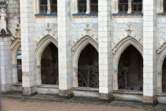 Cathedral of  Saint Gatien in Tours Royalty Free Stock Photo