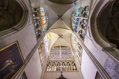Cathedral Saint Gatien of Tours, Loire valley, France Royalty Free Stock Image