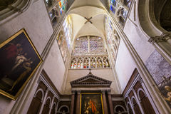 Cathedral Saint Gatien of Tours, Loire valley, France Stock Image