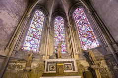 Cathedral Saint Gatien of Tours, Loire valley, France Stock Photos