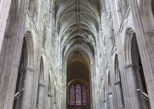 Cathedral Saint Gatien of Tours, Loire valley, France Stock Photography