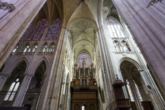 Cathedral Saint Gatien of Tours, Loire valley, France Stock Photo