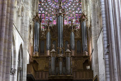 Cathedral Saint Gatien of Tours, Loire valley, France Royalty Free Stock Photography