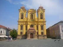 The Cathedral of Saint George. From Timisoara Royalty Free Stock Images