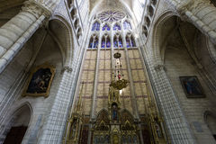 Cathedral Saint Gervais Saint Protais in Soissons, France Stock Photography