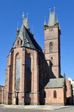 Cathedral Saint Ghost in Hradec Kralove in Czech r Stock Photography